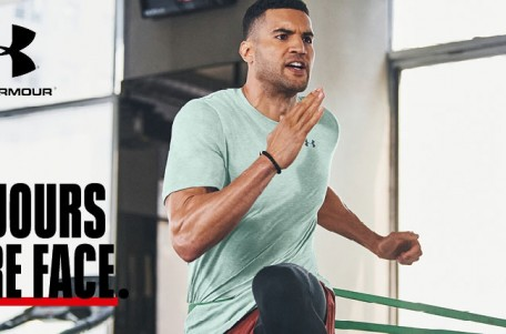 Toujours faire face avec la nouvelle collection Under Armour !